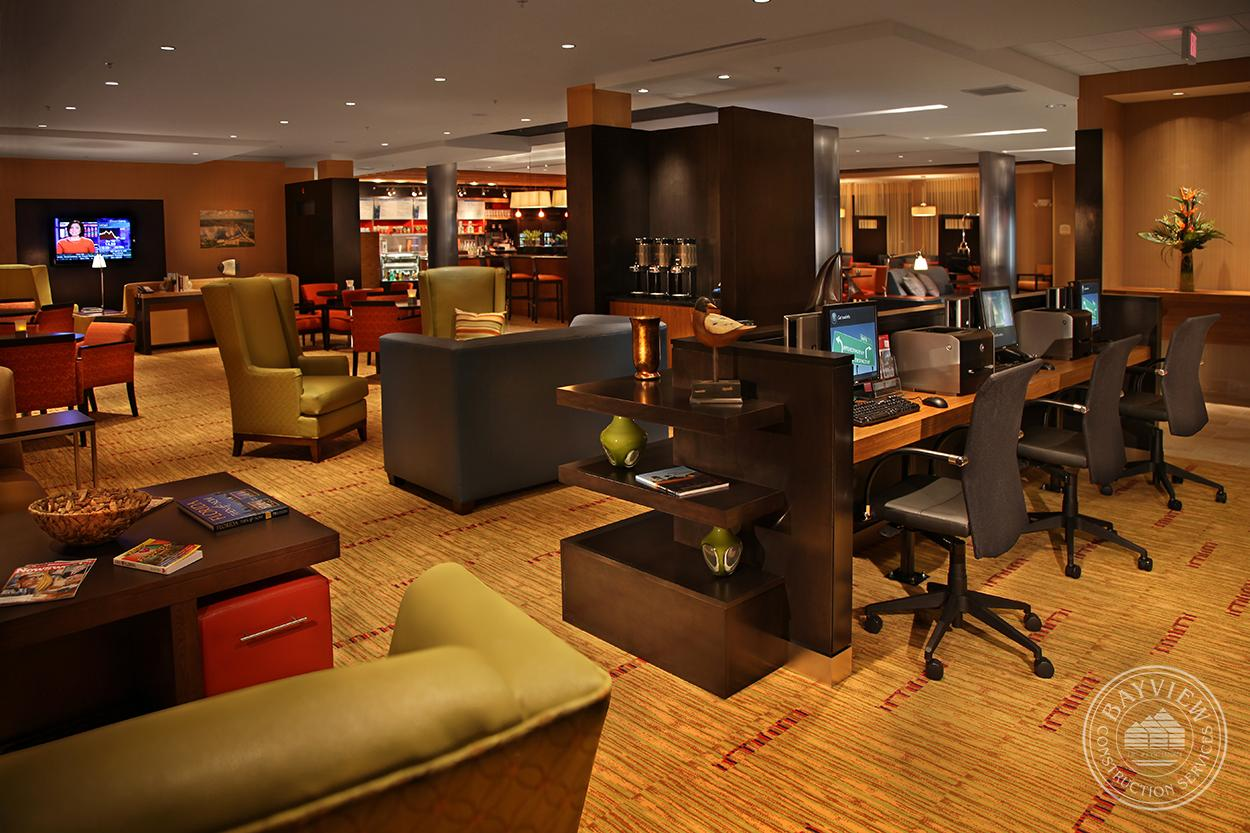 Courtyard by Marriott business room