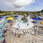 Community pool of Sailfish Splash Water Park Stuart, FL