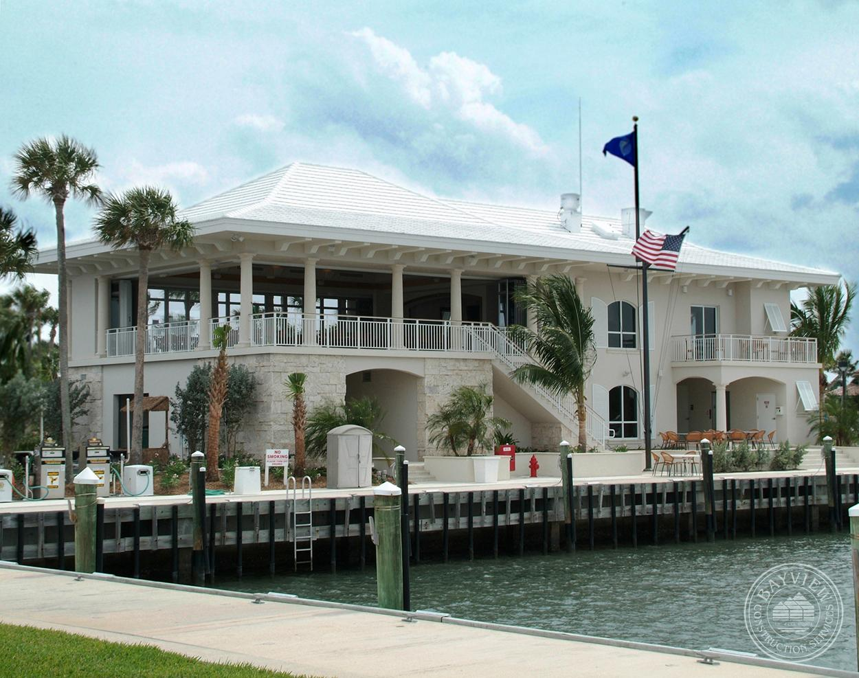 Exterior overlooking the water Sailfish Point Marina & Yacht Club Hutchinson Island, FL