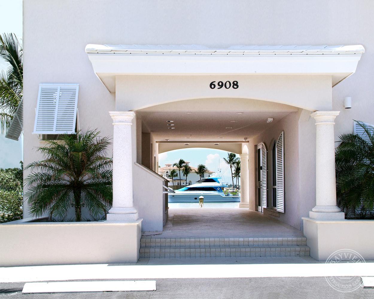 Marina Entrance - Sailfish Point Marina & Yacht Club Hutchinson Island, FL