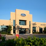 Advantage Ford - Building entrance by Bayview Construction