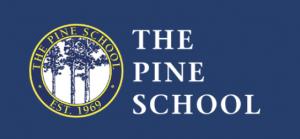 the pine school logo